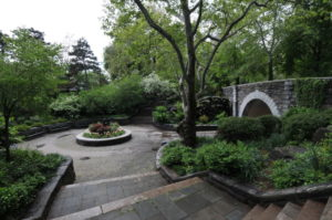 A view the beautiful greenery in Carl Schurz Park