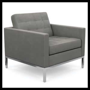 Grey louge chair