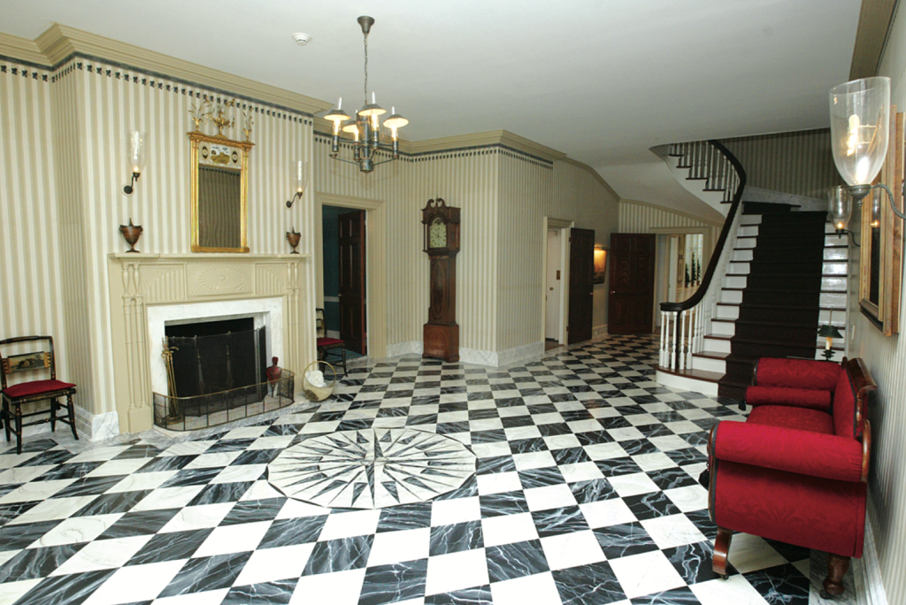 Gracie Mansion foyer.